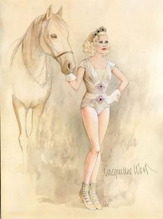 Water for Elephants, circus costume