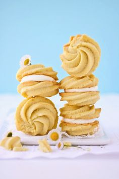 Lemon Cream Cookies for Jill :: Cannelle et Vanille