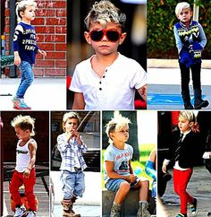 kids got style, if i ever have a boy i want him to be as awesome as Gwen Stefani's kid soo adorable :)