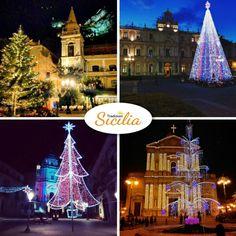 La bellezza della mia terra durante il Natale  #christmas #sicily #artesiciliana