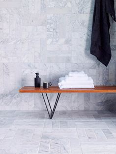 Discover the 6 top tile trends for 2018 by tile experts Mandarin Stone, including marble, textured and outdoor porcelain tiles. Honed Marble, Marble Tiles, Stone Tiles, Grey Tiles, Marble Floor, Stone Bathroom, Bathroom Floor Tiles, Master Bathroom, Outdoor Porcelain Tile