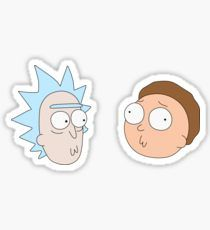 Stickers - Rick and Morty Sticker - Cartoon Stickers, Tumblr Stickers, Cool Stickers, Printable Stickers, Laptop Stickers, Rick And Morty Drawing, Rick And Morty Tattoo, Tatuaje Rick And Morty, Ricky Y Morty