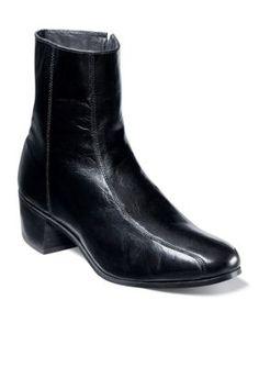 Florsheim Black Duke Ankle Boot