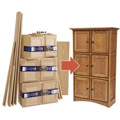 Create Fine Furniture from Stock Cabinets, Woodworking Plans, Furniture, Cabinets & Storage, Bookcases & Shelving, WOOD Issue 209, December/January 2011/2012, 2012, Simple