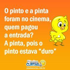 Casal de Pinto no Cinema
