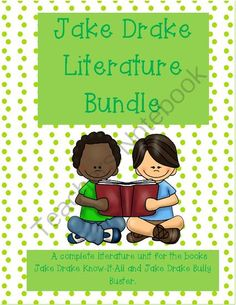 Jake Drake Know-It All and Jake Drake Bully Buster Literature Unit Bundle from Something to HOOT about... on TeachersNotebook.com -  (134 pages)  - This is a great way to save money on the Jake Drake Know-It All and Jake Drake Bully Buster Literature Units!  Save $2 by buying the bundle vs. individual stories.