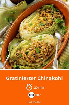 Chinese cabbage gratin – About Healthy Meals Grilling Recipes, Meat Recipes, Vegetarian Recipes, Healthy Recipes, Clean Eating Recipes, Healthy Eating, Col China, Chinese Cabbage, Cabbage Recipes