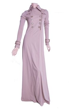 Love this Aab's Spring Trench Abaya! ;)  http://www.aabcollection.com/shop/product/spring-trench-abaya/250  #abaya #hijabstyle #spring #Aab
