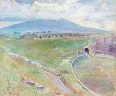 Gottfrid Kallstenius (1861-1943): Arenan I Pompeji, 1893