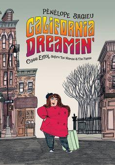 #CoverReveal: California Dreamin - Penelope Bagieu