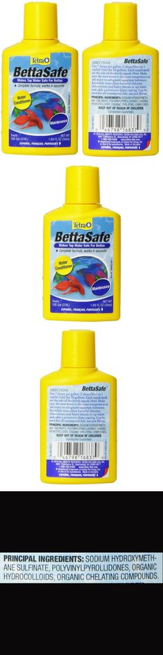 Water Tests and Treatment 77659: Aquarium Water Conditioner Fish Betta Safe Detoxifies Care Treatment 1.69-Ounce -> BUY IT NOW ONLY: $1236.08 on eBay!