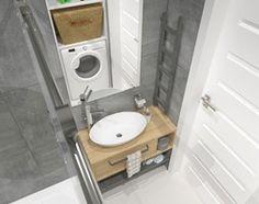 Aranżacje wnętrz - Łazienka: mieszkanie w bloku z wielkiej płyty - Mała łazienka w bloku w domu jednorodzinnym bez okna, styl nowoczesny - JMJ Interiors. Przeglądaj, dodawaj i zapisuj najlepsze zdjęcia, pomysły i inspiracje designerskie. W bazie mamy już prawie milion fotografii!