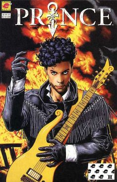 Prince, His Purple Badness as a DC Comics Superhero | Alter Ego, the three-issue story originally published by Titan Books in Great Britain in 1991 and then re-published by Piranha Music/DC Comics Dangerous Minds
