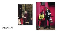 For FW 2015/16 Valentino visits the East End of London: A campaign shot by David Bailey l #fashion #menswear