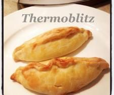 Recipe Thermoblitz Chicken and Vege Pasties by Thermoblitz - Recipe of category Baking - savoury