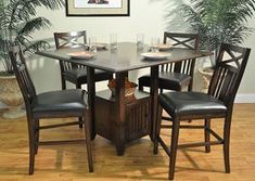 Augusta Pub Table, from Jarons Furniture's wide selection of pub tables. Tall tables for your kitchen, den, living room, family room, and more. Visit Jarons showrooms in Bordentown or Lumberton, New Jersey, or browse our selection at Jarons.com