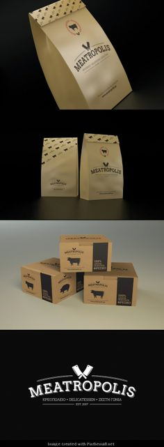 I like the paper bag packaging. It is very simple, easy to produce and has a lot of space for information.