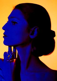 """Model Benedetta Barzini for Vogue"" 1963 photo by American photographer BERT STERN Bert Stern, Color Photography, Fashion Photography, Yves Klein Blue, Portraits, Color Stories, Third Eye, Ciel, Belle Photo"