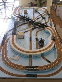 N-Scale model railroad