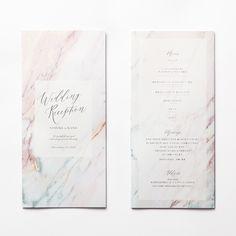 席次表 MARBLE Ruby|LOUNGE WEDDINGの席次表