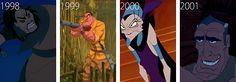 Shan Yu--Mulan Clayton--Tarzan Yzma--The Emperor's New Groove Disney Home, Disney Art, Disney Pixar, Walt Disney, Clayton Tarzan, New Disney Movies, Disney Stuff, Disney And More, Cute Disney