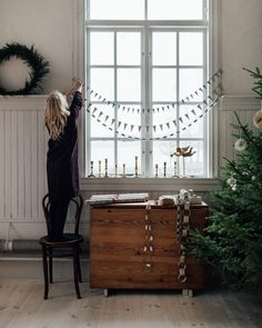 Swedish Christmas, Noel Christmas, Scandinavian Christmas, Simple Christmas, Winter Christmas, Christmas Crafts, Christmas Cookies, Beautiful Christmas Decorations, Holiday Decor