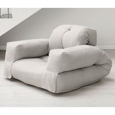 Found it at www.dcgstores.com - ♥ ♥ Hippo Convertible Chair with Arms in Natural ♥ ♥