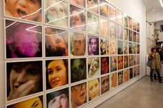 """Scenes from Ryan McGinley's """"Grids"""" and """"Animals"""" Opening at TEAM Gallery"""