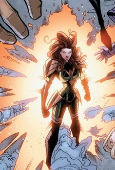 The first mutant born after M-Day, Hope Summers is believed to either be the mutant messiah or the harbinger of death for humanity. She is an Omega-level power mimic, and possesses a connection to the Phoenix Force. Marvel Girls, Comics Girls, Gi Joe, Marvel Comics, Hope Summers, Female Comic Characters, Marvel Ultimate Alliance, Jean Grey Phoenix, Avatar
