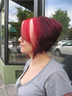 Hair Cut Colored & Styled By Charlene Bancel. Halo Designs Salon