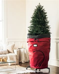 Our exclusive Rolling Christmas Tree Storage Bag is a convenient and reliable way to transport and safeguard your beloved tree season after season.