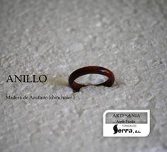 anillo de madera de azufaifa