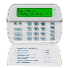 DSC PowerSeries NEO HS2LCDENG Full Message LCD Hardwired Keypad with English function keys