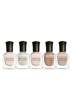 Deborah Lippmann 'Dancing in the Nude' Mini Nail Lacquer Set ($60 Value) available at #Nordstrom