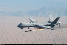 The MQ-9 and other UAVs are referred to as Remotely Piloted Vehicles/Aircraft by the U.S. Air Force to indicate their human ground controllers.