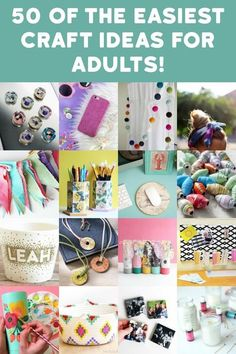 Craft Projects For Adults, Arts And Crafts For Adults, Easy Craft Projects, Craft Kits, Project Ideas, Art Projects, Projects To Try, Quick And Easy Crafts, Crafts To Make And Sell