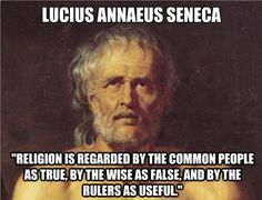"Lucius Annaeus Seneca <> Agreeing doesn't mean I don't believe; it means I believe that ""belief"" is exploited."