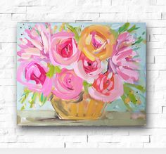 A personal favorite from my Etsy shop https://www.etsy.com/listing/274095470/impressionist-art-acrylic-painting