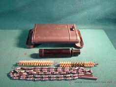 CAJA METALICA CON KIT DE LIMPIEZA PARA FUSIL - G.APPEL - 1934 - 1938  ------- SE VENDE -------- estalcon@gmail.com