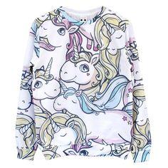 BATOKO Unicorn Party Print Sweatshirt