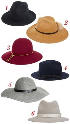 Hats are the perfect accessory for fall! Here, we shopped out six styles inspired by Chrissy Teigen.