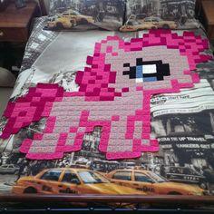 8-bit crochet - my little pony - on lionbrand's website.