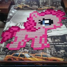 8-bit crochet - my little pony - on lionbrand's website.