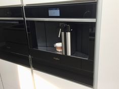 Whirlpool, Built in Coffee Machine in Black Automatic Coffee Machine, Cafetiere, Water Tank, Coffee Recipes, Barista, Locker Storage, Coffee Maker, Strength, Milk
