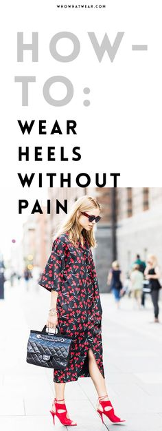 Make any pair of heels comfortable with this trick