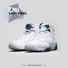 #nike #air #jordan7 #retro #sneakerbaas #baasbovenbaas  Air Jordan 7 Retro - LAST SIZES, priced at €179,95  For more info about your order please send an e-mail to webshop #sneakerbaas.com!