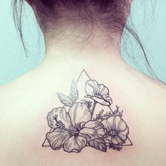 """464 Likes, 16 Comments - Kai Smart (@ladymisskai) on Instagram: """"From California (ca poppy) to Hawaii (hibiscus) just like me! Thanks Celeste (her first tattoo)…"""""""