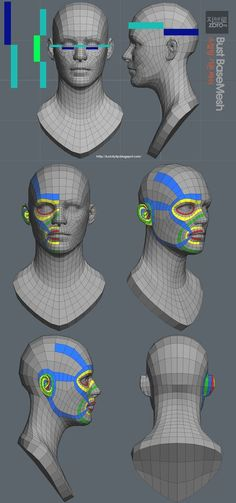S video & sketchbook - page 3 zbrush tutorials face top 3d Model Character, Character Modeling, Character Art, Character Design, Character Concept, Web Design, Logo Design, Layout Design, Zbrush Tutorial