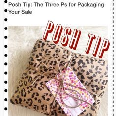 posh tip Other - PoshTips!!! 3 P's for Packaging your Sale