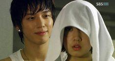 You're Beautiful! ♥ Park Shin Hye as Go Mi Nam ♥ Jung Yong Hwa as Kang Shin Woo